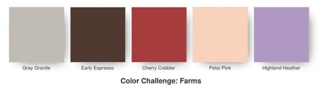 Kre8tors Blog Hop – Colour Challenge : Farms