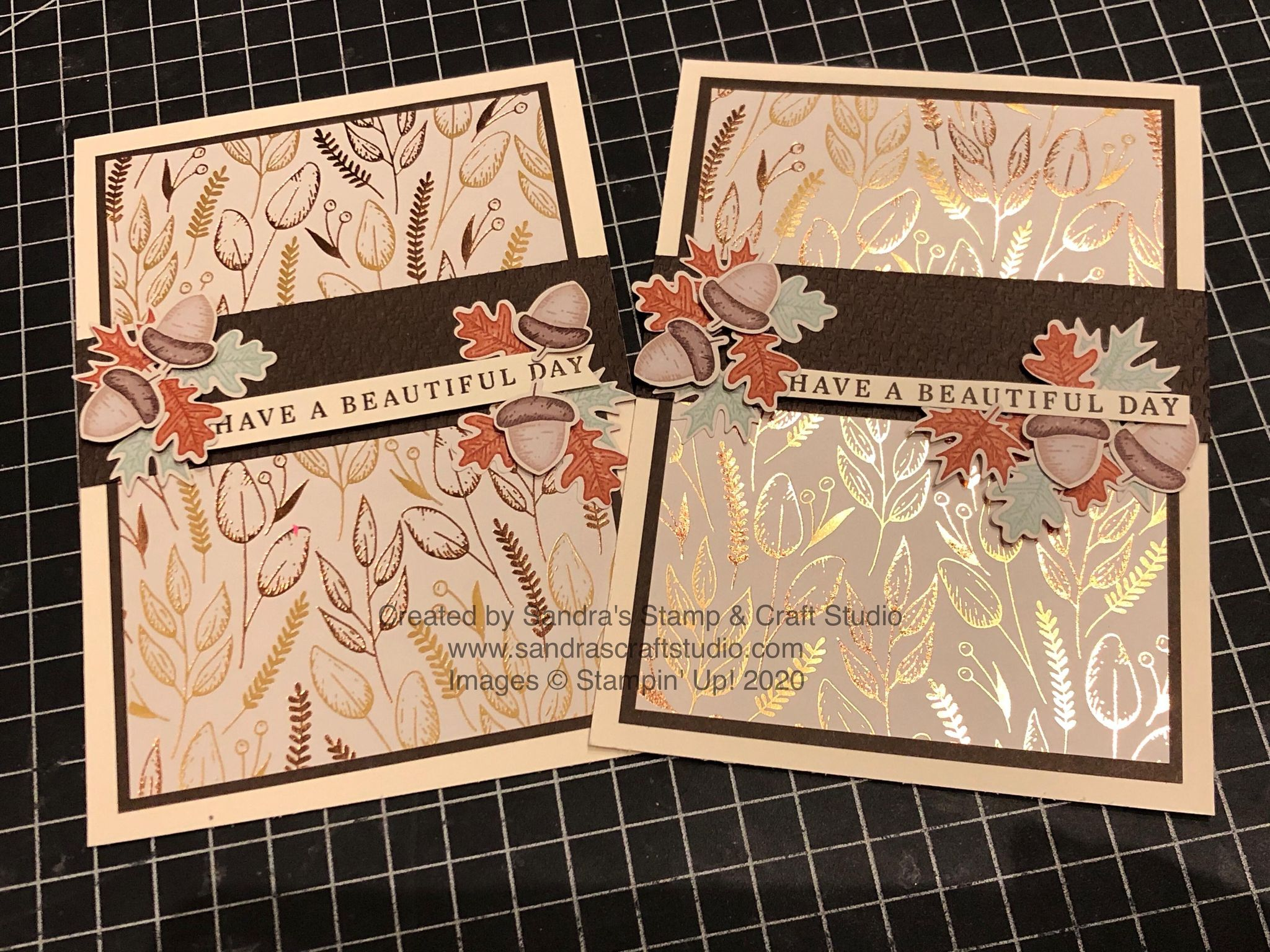 PAPERCRAFT BLOG HOP Fall ~ Designer Series Paper feature with 'Autumnal' theme