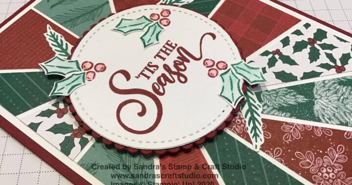Handmade card created using Tag Buffet stamp set from Stampin' Up!