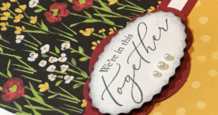FREE Flower & Field Designer Series Papers used to create this gorgeous card.