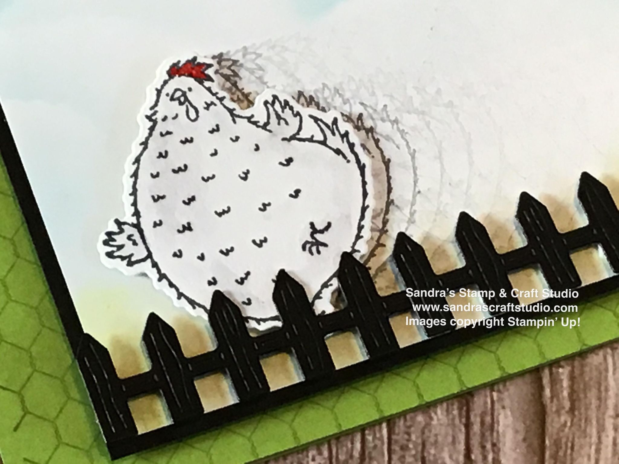 Hey Birthday Chick motion card for Stampin' Dreams 'Movies & TV' Blog Hop