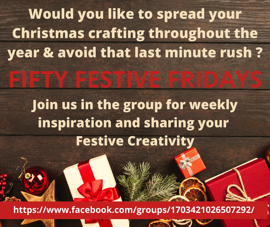 Christmas Inspiration with Stampin' Up! via Fifty Festive Fridays Facebook Group