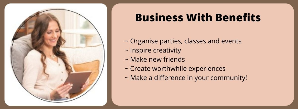 JOIN Stampin' Up! - Business With Benefits