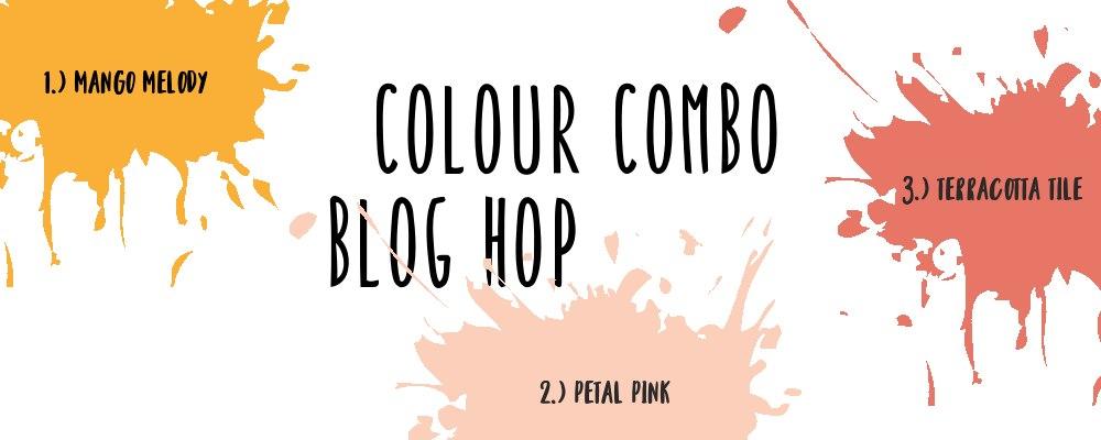 Floral Bouquet with Colour Combo Blog Hop
