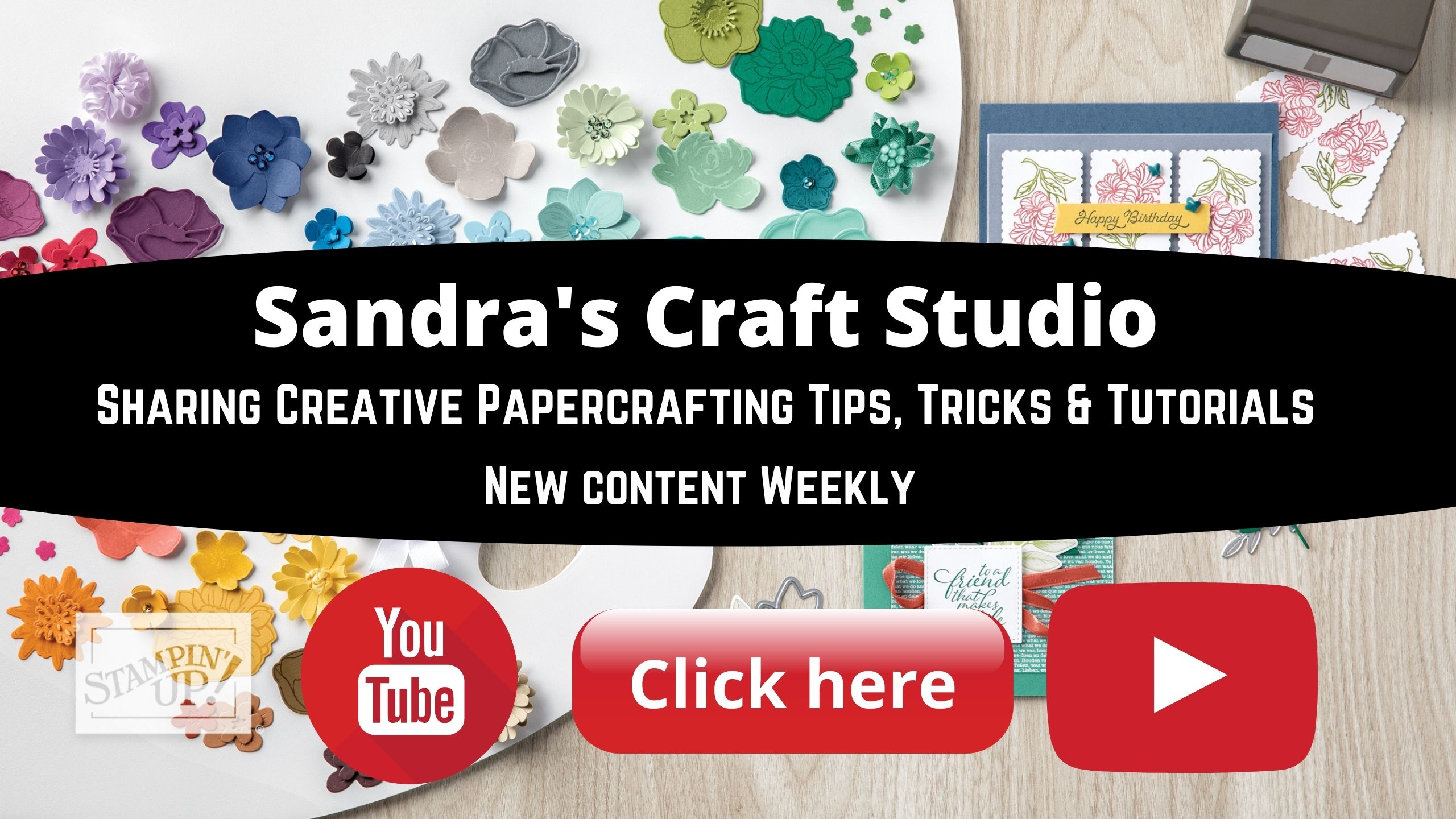 Sandra's Craft Studio YouTube Channel