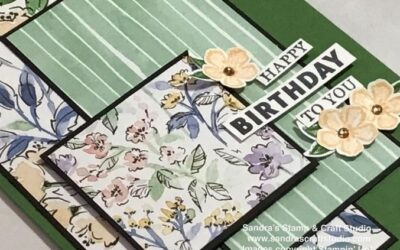 Happy Birthday with Hand-Penned for Paper Crafting Blog Hop